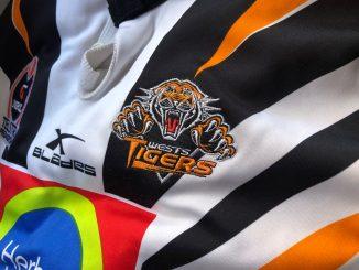 wests tigers jersey badge