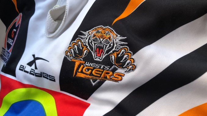 wests tigers jersey badge