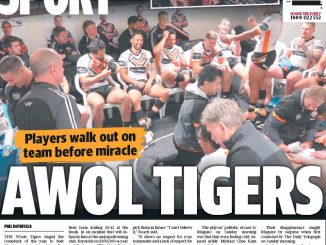 wests tigers daily telegraph